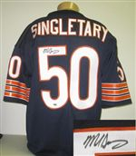 sports shoes a7bcf df556 Mike Singletary Autograph Authentic Style Jersey