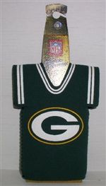 official photos 36ff5 ac53b Green Bay Packers Jersey Bottle Cozy